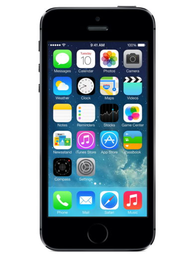 Apple iPhone 5S 16GB space grau